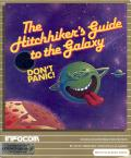 The Hitchhiker's Guide to the Galaxy Commodore 64 Front Cover