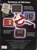Ghostbusters PC Booter Back Cover