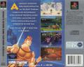 Disney's Hercules  PlayStation Back Cover