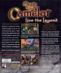 Dark Age of Camelot Windows Back Cover