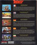 Asterix and the Magic Carpet Commodore 64 Back Cover