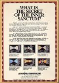 Might and Magic: Book One - Secret of the Inner Sanctum Commodore 64 Back Cover
