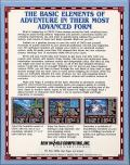 Might and Magic II: Gates to Another World Commodore 64 Back Cover
