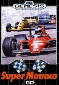 Super Monaco GP Genesis Front Cover