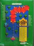 Centipede Commodore 64 Back Cover