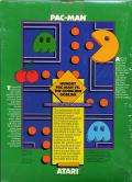 Pac-Man Commodore 64 Back Cover