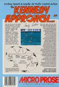Kennedy Approach Commodore 64 Back Cover