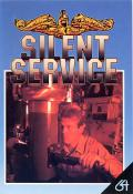 Silent Service Commodore 64 Front Cover