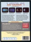 Uridium Commodore 64 Back Cover