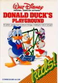 Donald Duck's Playground Commodore 64 Front Cover