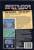 Infiltrator Commodore 64 Back Cover