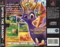 Spyro the Dragon PlayStation Back Cover
