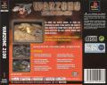 Warzone 2100 PlayStation Back Cover