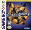 Asteroids Game Boy Color Front Cover
