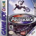 Mat Hoffman's Pro BMX Game Boy Color Front Cover