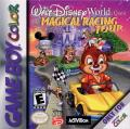 Walt Disney World Quest Magical Racing Tour Game Boy Color Front Cover