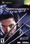 X2: Wolverine's Revenge Xbox Front Cover