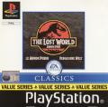The Lost World: Jurassic Park PlayStation Front Cover