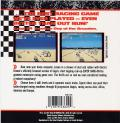 Super Hang-On Commodore 64 Back Cover