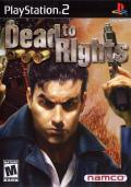 Dead to Rights PlayStation 2 Front Cover