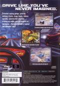 Hot Wheels: Velocity X PlayStation 2 Back Cover