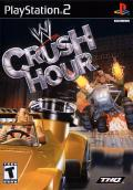 WWE Crush Hour PlayStation 2 Front Cover
