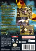 The Lord of the Rings: The Two Towers GameCube Back Cover