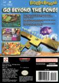 Frogger Beyond GameCube Back Cover