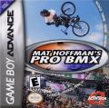 Mat Hoffman's Pro BMX Game Boy Advance Front Cover