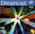 Rez Dreamcast Front Cover