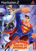 Superman: Shadow of Apokolips PlayStation 2 Front Cover
