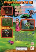 Frogger: The Great Quest Windows Back Cover