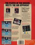 Jordan vs Bird: One on One Commodore 64 Back Cover
