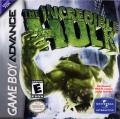 The Incredible Hulk Game Boy Advance Front Cover