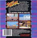 Street Fighter Commodore 64 Back Cover