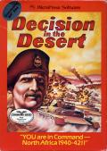 Decision in the Desert Commodore 64 Front Cover