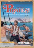 Sid Meier's Pirates! Commodore 64 Front Cover
