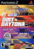 NASCAR: Dirt to Daytona PlayStation 2 Front Cover