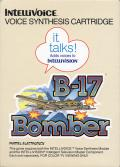 B-17 Bomber Intellivision Front Cover