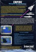 Empire: Wargame of the Century DOS Back Cover