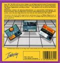 Neuromancer Commodore 64 Back Cover