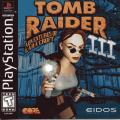 Tomb Raider III: Adventures of Lara Croft PlayStation Front Cover