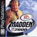 Madden NFL 2000 PlayStation Front Cover