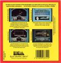 Skyfox II: The Cygnus Conflict Commodore 64 Back Cover