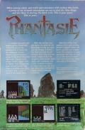 Phantasie Atari ST Back Cover