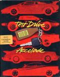 Test Drive Commodore 64 Front Cover