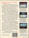 Test Drive Commodore 64 Back Cover