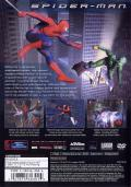 Spider-Man: The Movie PlayStation 2 Back Cover