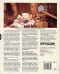 Plundered Hearts Commodore 64 Back Cover