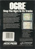 Ogre Commodore 64 Back Cover